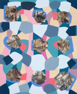 Claire Mooney abstract art 2015 Drift (parklands)