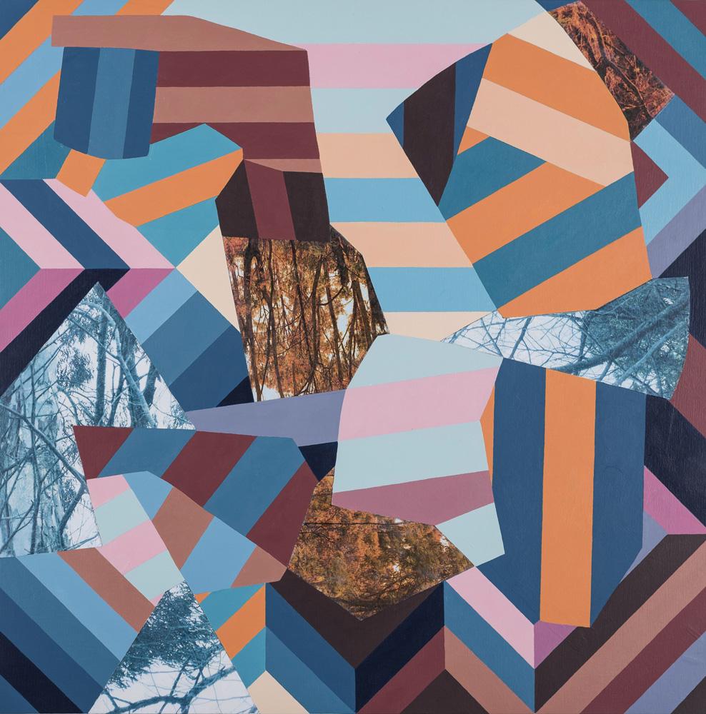 Claire Mooney - Abstract Art - Torrent - 2017