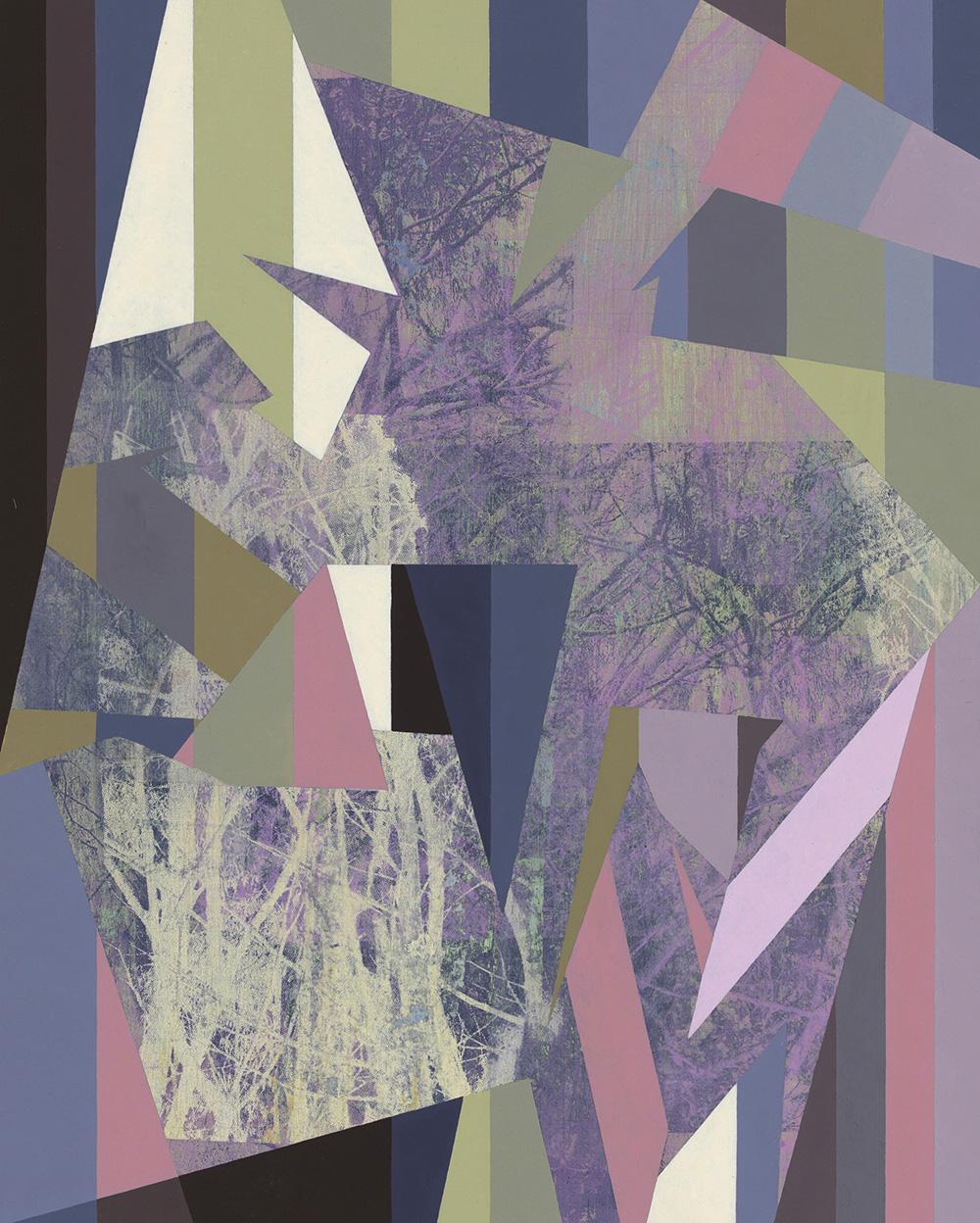 Claire Mooney Abstract Art Splinter 2020