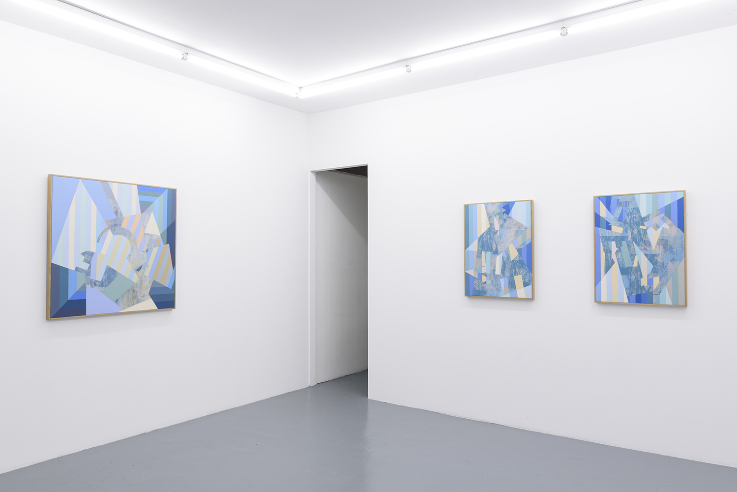 Installation: A part and between, Five Walls<br>Orbit, Winter Sun and Aurora<br>Image credit: Christopher Sanders