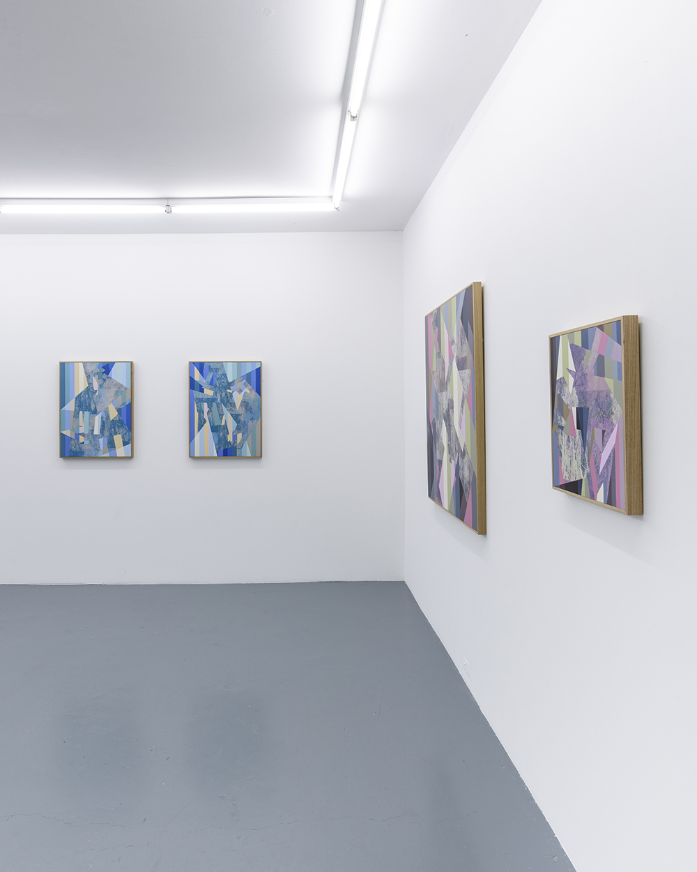 Installation: A part and between, Five Walls<br>Winter Sun, Aurora, Parapet and Splinter<br>Image credit: Christopher Sanders