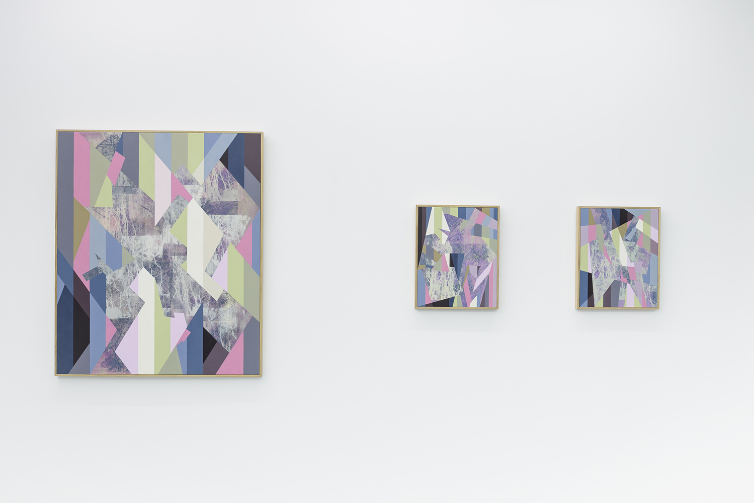 Installation: A part and between, Five Walls<br> Parapet, Splinter and Castaway<br>Image credit: Christopher Sanders
