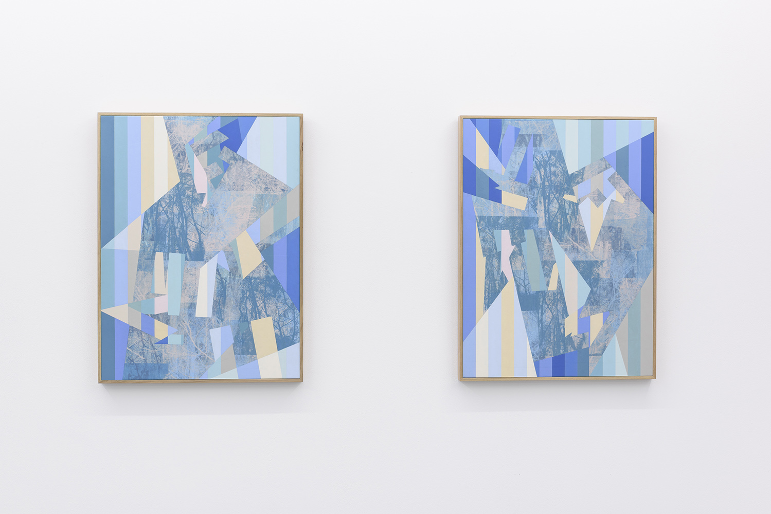 Installation: A part and between, Five Walls<br>Winter Sun and Aurora<br>Image credit: Christopher Sanders